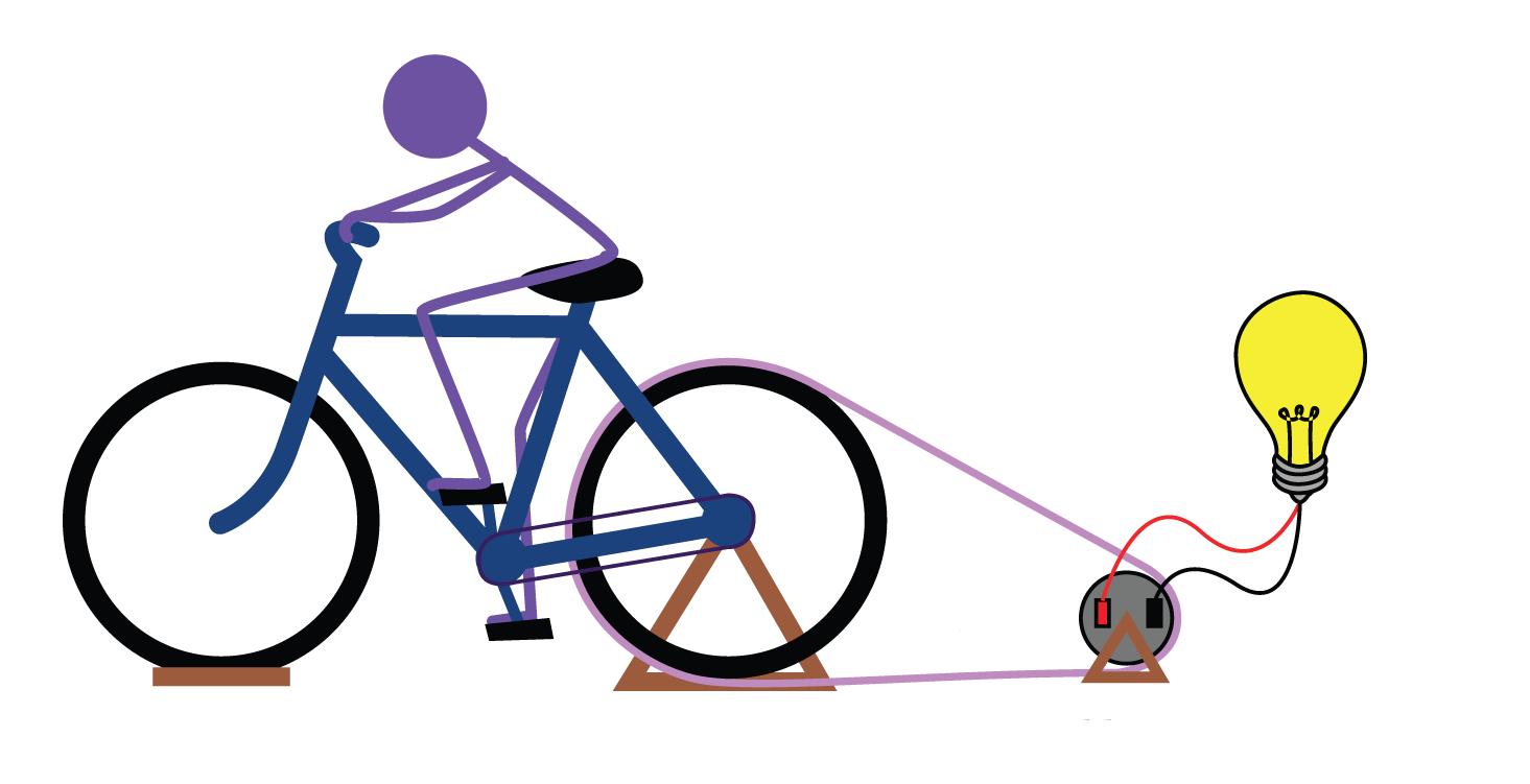 Как сделать генератор для велосипеда